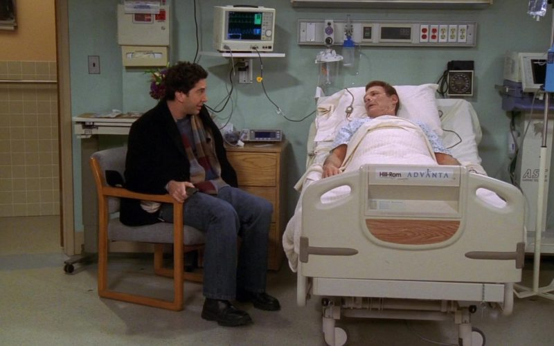 Hill-Rom Advanta Hospital Bed Used by Ron Leibman (Dr. Leonard Green) in Friends (2)