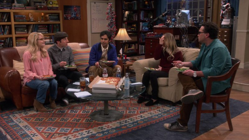 Icelandic Glacial  Water in The Big Bang Theory - Season 12, Episode 17, The Conference Valuation (2019) TV Show Product Placement