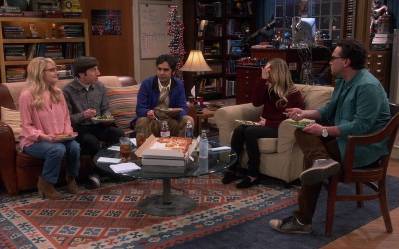 Icelandic Glacial Water in The Big Bang Theory