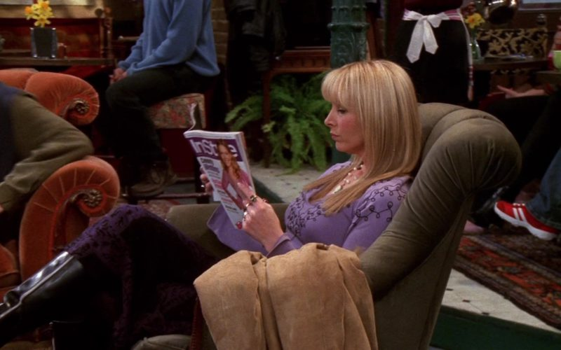 InStyle Magazine Held by Lisa Kudrow (Phoebe Buffay) in Friends (1)