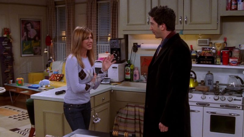 "Jägermeister in Friends Season 10 Episode 13 ""The One Where Joey Speaks French"" (2004) - TV Show Product Placement"