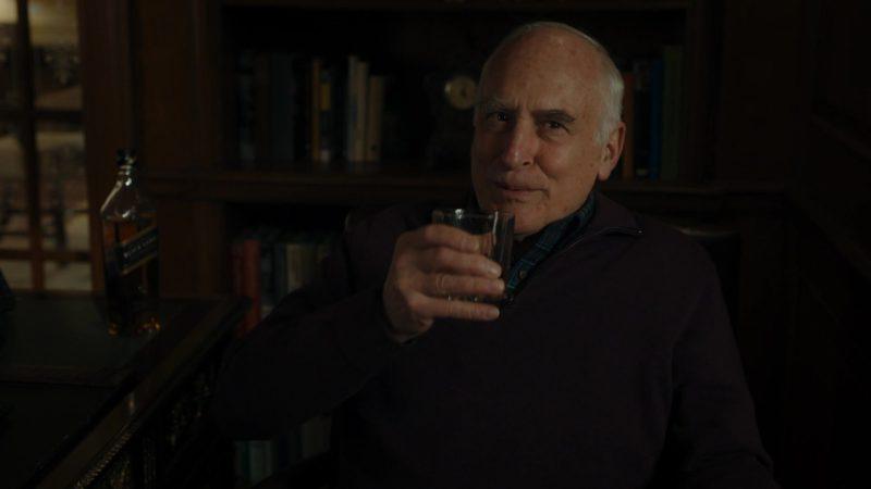 Johnnie Walker Black Label Whisky Drunk by Jeffrey DeMunn (Chuck Rhoades) in Billions – Season 4 Episode 4, Overton Window (2019) TV Show Product Placement