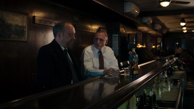 Johnnie Walker Blue Label Whisky Drunk by Jeffrey DeMunn (Chuck Rhoades) in Billions – Season 4 Episode 5, A Proper Sendoff (2019) TV Show Product Placement