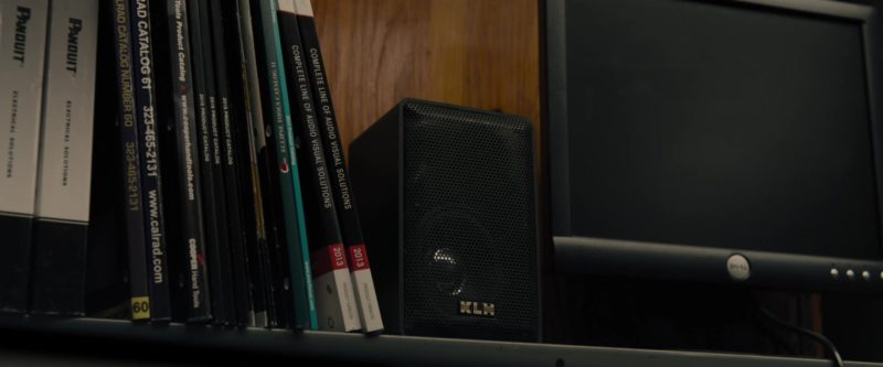 KLH Audio Speaker and Dell Monitor  in Glass (2019) - Movie Product Placement