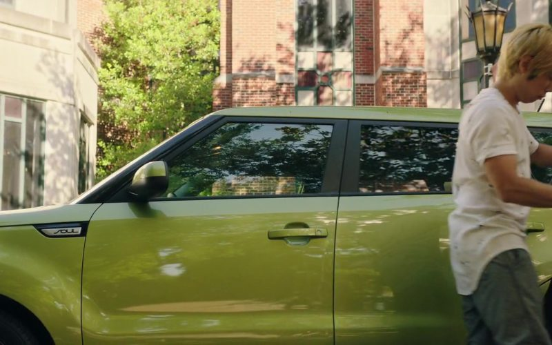 Kia Soul Green Car Driven by Phi Vu in Happy Death Day 2U (3)