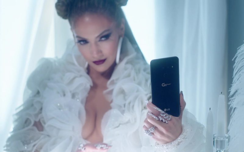 LG G8 ThinQ Android Smartphone Held by Jennifer Lopez in Medicine (1)