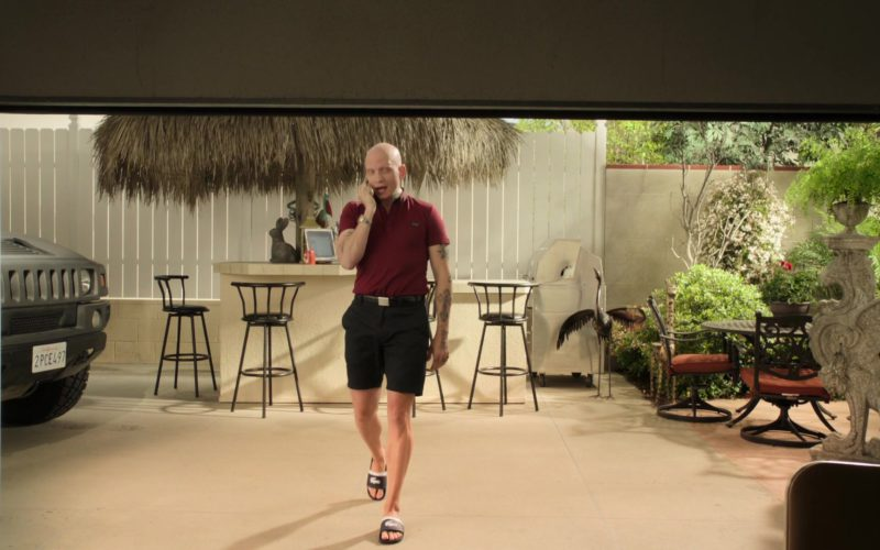Lacoste Flip-Flops Worn by Anthony Carrigan (NoHo Hank) in Barry (2)