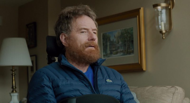 Lacoste Jacket Worn by Bryan Cranston in The Upside (2017) - Movie Product Placement