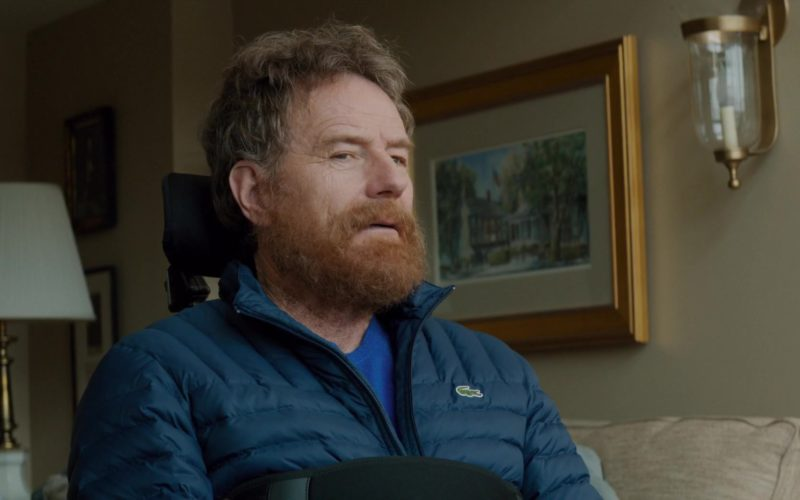 Lacoste Jacket Worn by Bryan Cranston in The Upside (4)