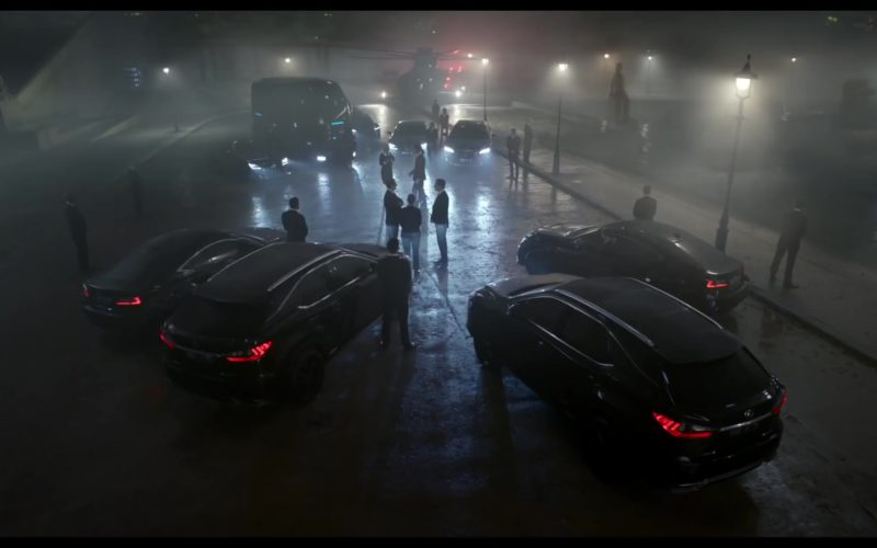 Lexus Cars in Men in Black International