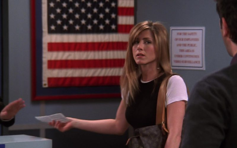 Louis Vuitton Handbag Used by Jennifer Aniston (Rachel Green) in Friends Season 10 (5)