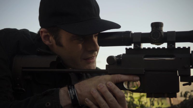 Lucid Optics Rifle Scope Used by Bill Hader in Barry - Season 1, Episode 3, Chapter Three: Make the Unsafe Choice (2018) - TV Show Product Placement