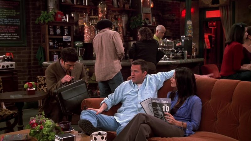 "Mental Floss Magazine Held by Courteney Cox (Monica Geller) in Friends Season 9 Episode 20 ""The One With the Soap Opera Party"" (2003) - TV Show Product Placement"