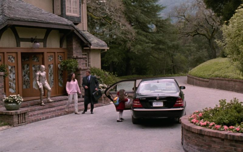 Mercedes-Benz S500 [W220] Black Car in Bicentennial Man