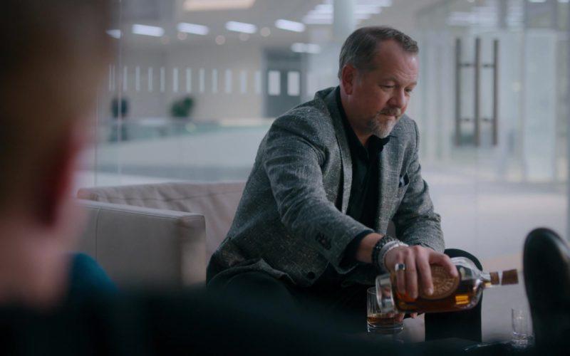 Michter's Whiskey in Billions – Season 4 Episode 4 (3)