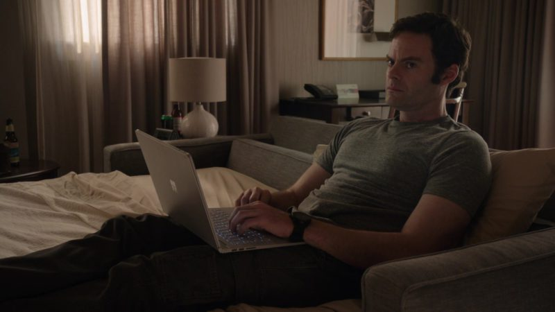 Microsoft Surface Notebook Held by Bill Hader in Barry - Season 1, Episode 5, Chapter Five: Do Your Job (2018) - TV Show Product Placement