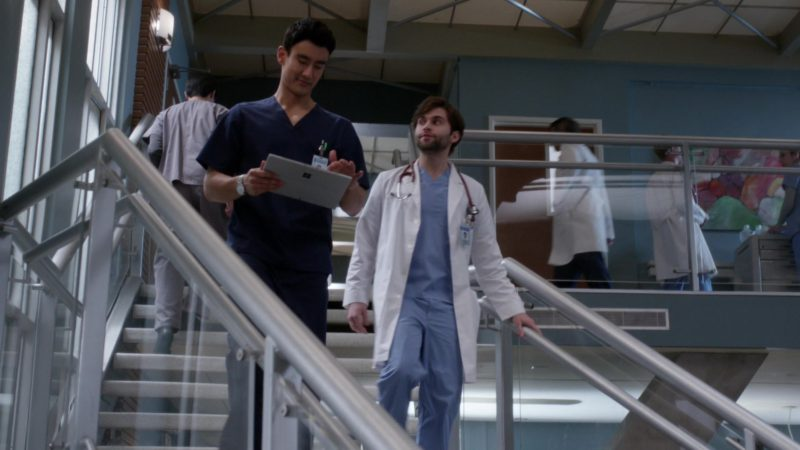 Microsoft Surface Tablet in Grey's Anatomy - Season 15, Episode 22, Head Over High Heels (2019) TV Show