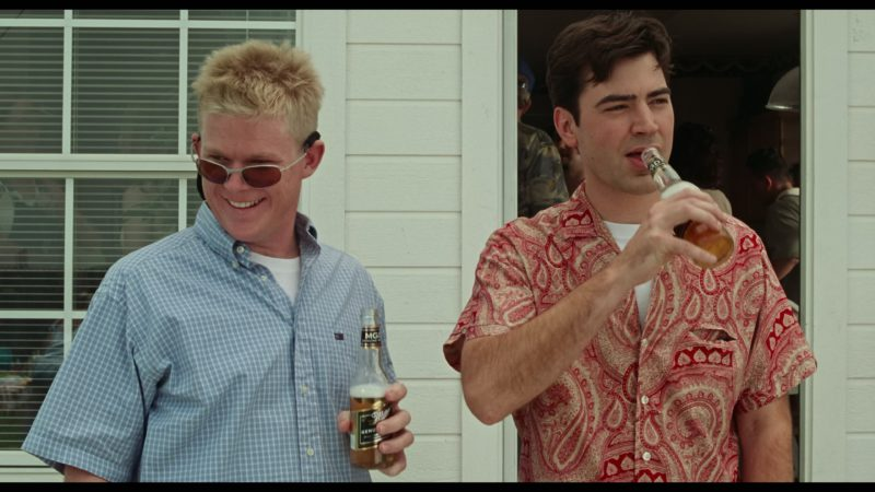 Miller Genuine Draft Beer Drunk by Ron Livingston in Office Space (1999) - Movie Product Placement