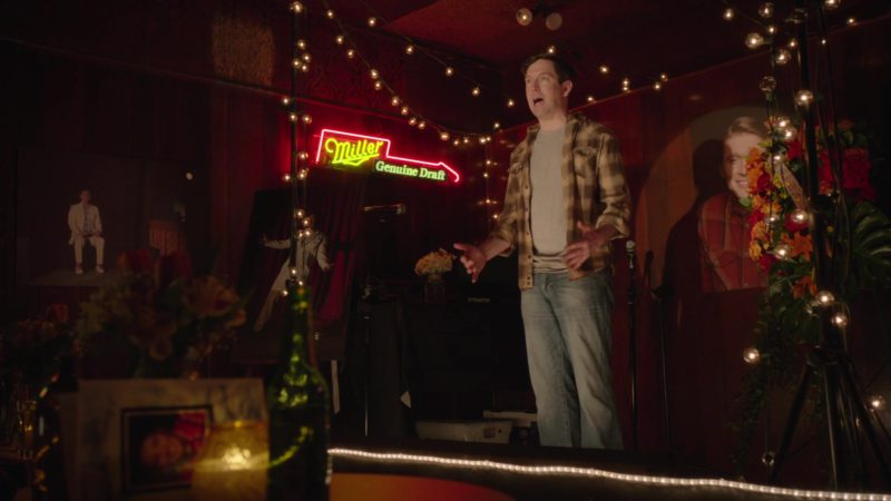 Miller Genuine Draft Beer Neon Sign in Barry - Season 1, Episode 2, Chapter Two: Use It (2018) TV Show Product Placement