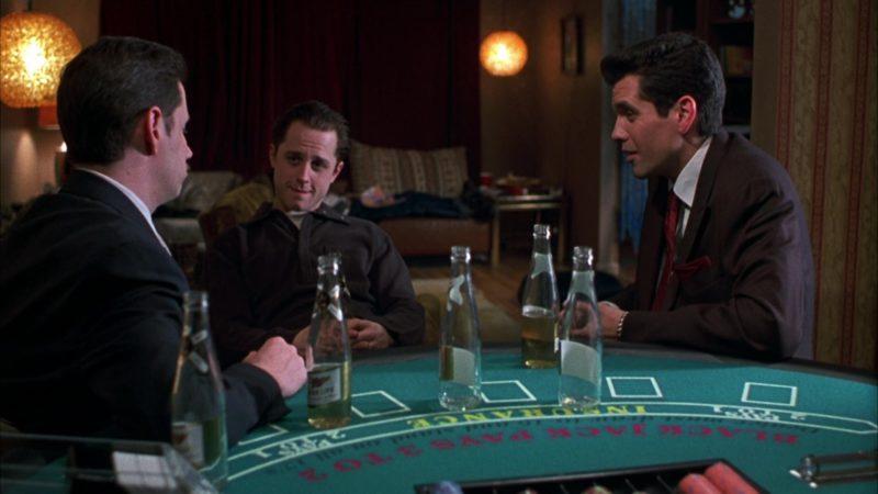 Miller High Life Beer in Boiler Room (2000) Movie