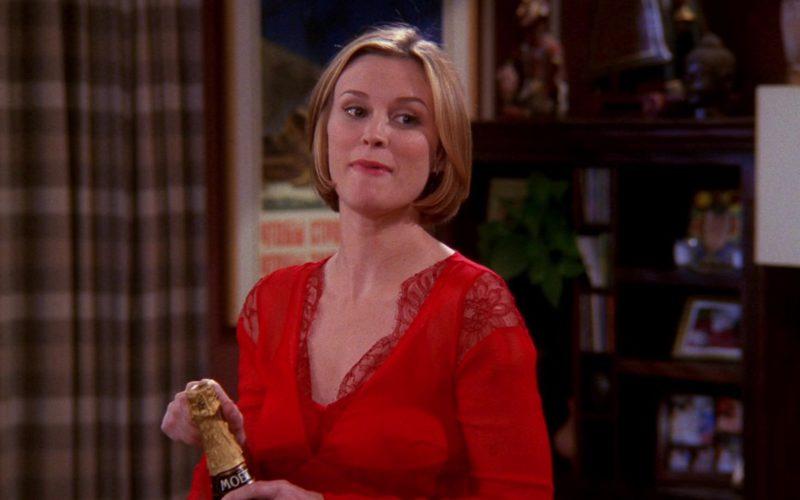 Moet Champagne in Friends Season 8 Episode 15
