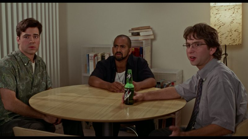 Molson Ice Beer Drunk by David Herman in Office Space (1999) Movie Product Placement