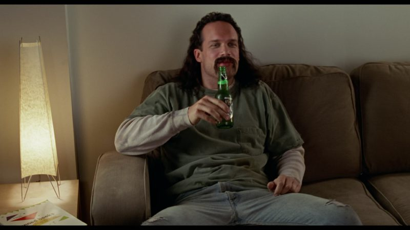 Molson Ice Beer Drunk by Diedrich Bader in Office Space (1999) Movie Product Placement