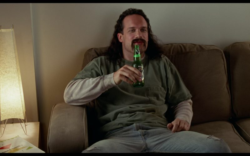 Molson Ice Beer Drunk by Diedrich Bader in Office Space (2)