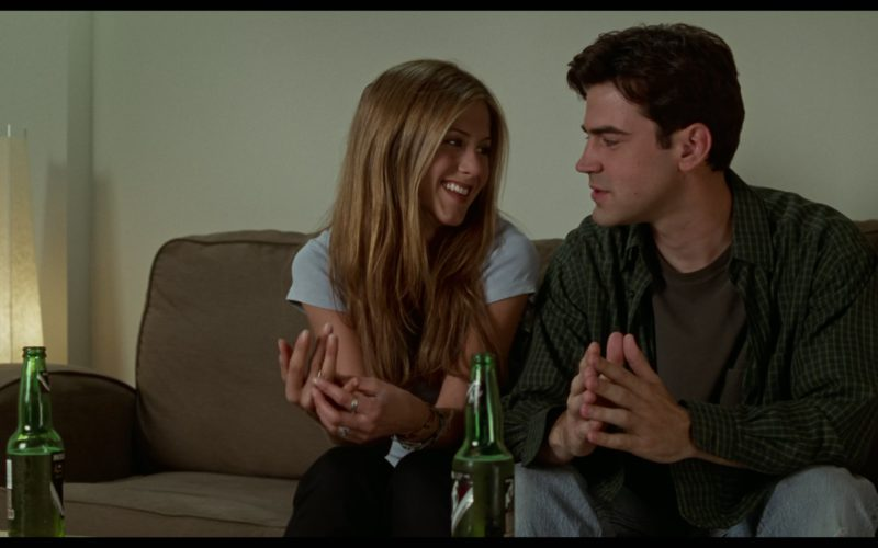 Molson Ice Beer Drunk by Jennifer Aniston & Ron Livingston in Office Space