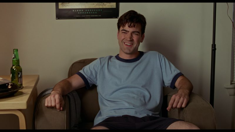 Molson Ice Beer Drunk by Ron Livingston in Office Space (1999) Movie Product Placement