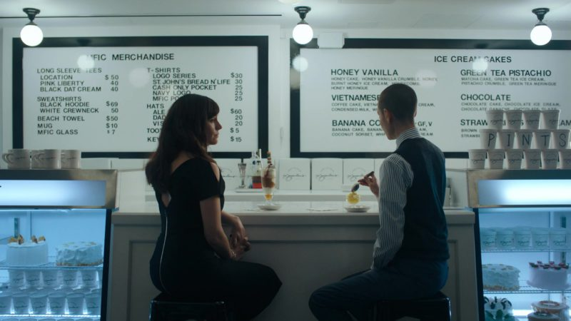 Morgenstern's Finest Ice Cream NYC (Ice Cream Shop) in Billions - Season 4, Episode 6, Maximum Recreational Depth (2019) - TV Show Product Placement