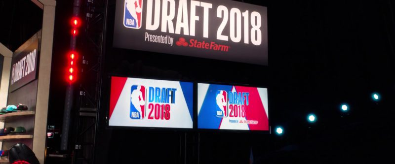 NBA Draft 2018 in What Men Want (2019) Movie
