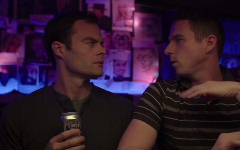 Natural Light Beer Drunk by Bill Hader in Barry (1)