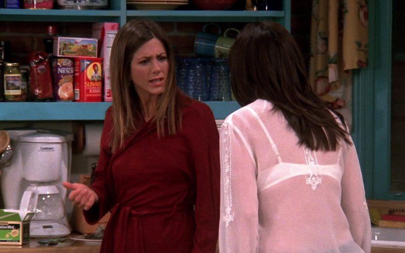 Nescafe and Sun-Maid Raisins in Friends Season 9 Episode 20 (1)
