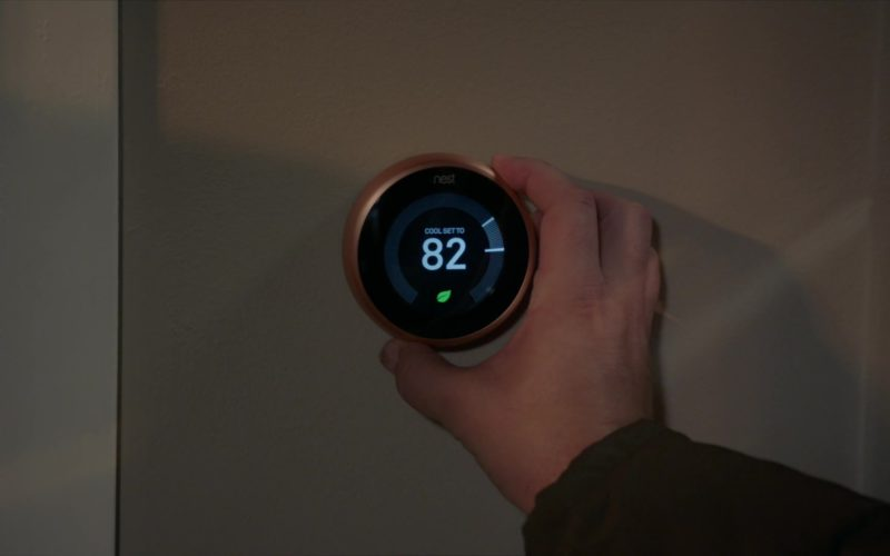 Nest Thermostat in Life in Pieces (3)