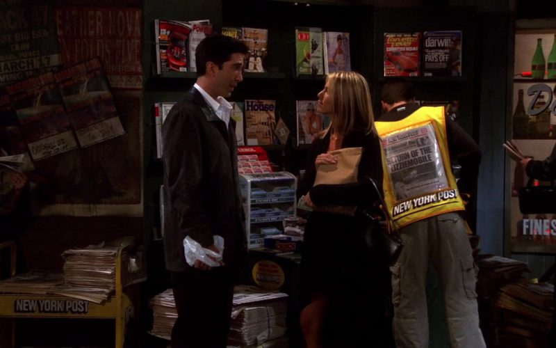 New York Post Newspapers in Friends Season 8 Episode 5 (1)