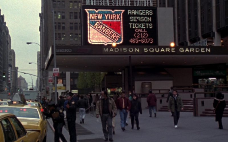 New York Rangers Ice hockey team & Madison Square Garden in Friends Season 10