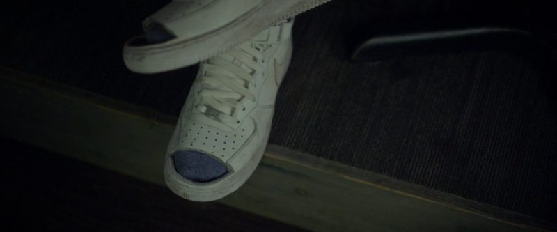 Nike Air Force 1 White Sneakers Worn by Kelvin Harrison Jr. in Jeremiah Terminator LeRoy (2018) Movie Product Placement