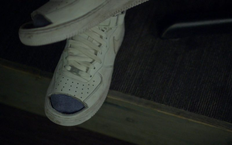 Nike Air Force 1 White Sneakers in Jeremiah Terminator LeRoy