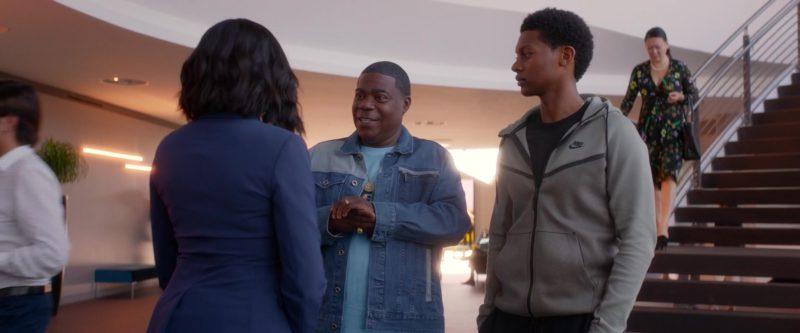 Nike Hoodie Jacket Worn by Shane Paul McGhie in What Men Want (2019) - Movie Product Placement