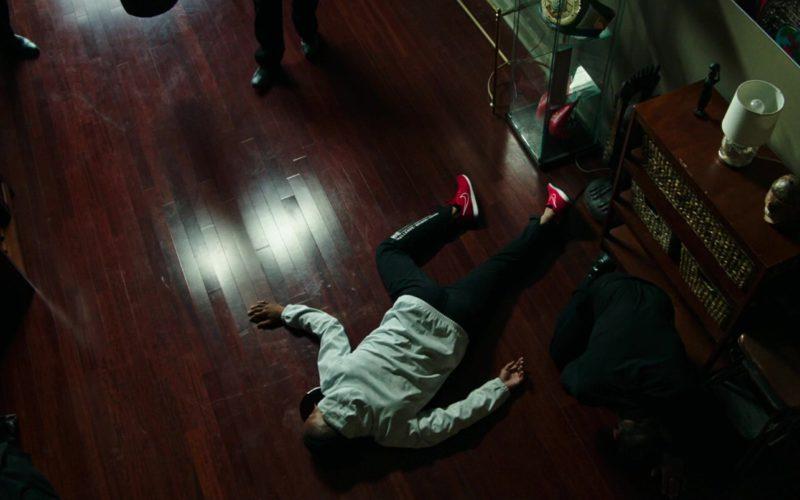 Nike Red Sneakers Worn by Cuba Gooding Jr. in Bayou Caviar