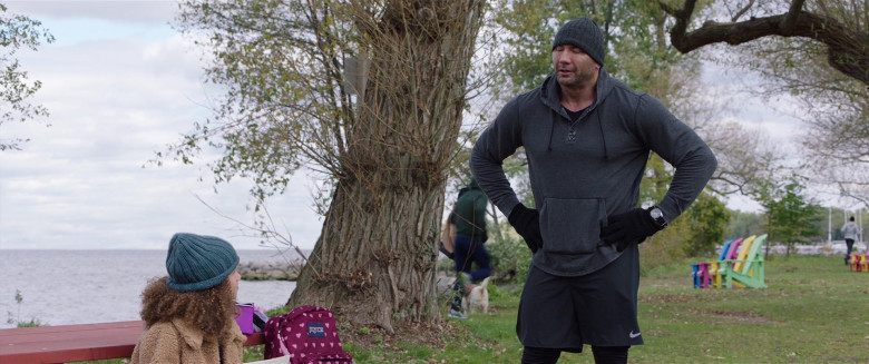 Nike Shorts Worn by Dave Bautista in My Spy (1)