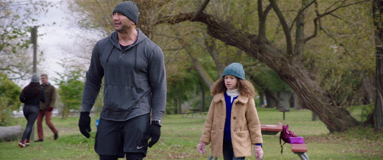 Nike Shorts Worn by Dave Bautista in My Spy (2)