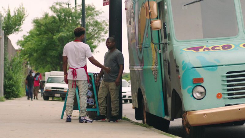 """Nike Sneakers Worn by Jacob Latimore in The Chi - Season 2, Episode 3, """"Past Due"""" (2019) - TV Show Product Placement"""