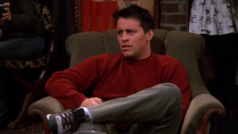 "Nike Sneakers Worn by Matt LeBlanc (Joey Tribbiani) in Friends Season 8 Episode 8 ""The One With the Stripper"" (2001) - TV Show Product Placement"