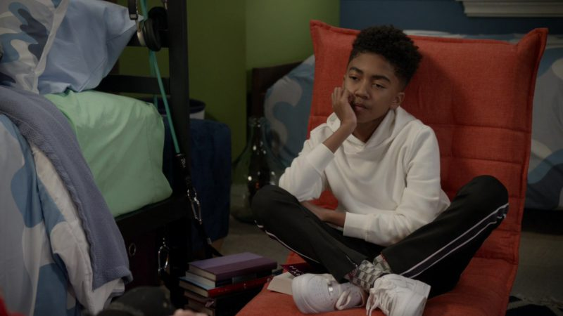 Nike Sneakers Worn by Miles Brown in Black-ish – Season 5, Episode 19, Under the Influence (2019) - TV Show Product Placement