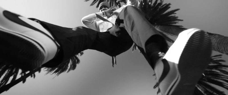 Nike Sneakers Worn by YG in West Coast by G-Eazy feat. Blueface & ALLBLACK (2019) - Official Music Video Product Placement