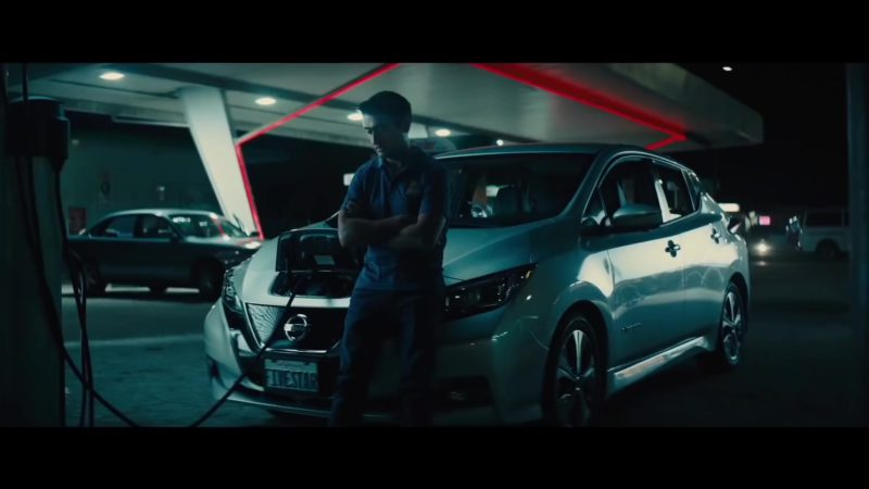 Nissan Leaf Car Used by Kumail Nanjiani & Dave Bautista in Stuber (2019) - Movie Product Placement