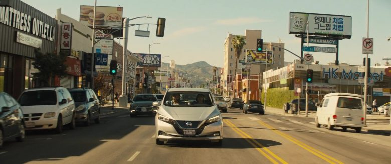 Nissan Leaf Car Used by Kumail Nanjiani & Dave Bautista in Stuber (3)