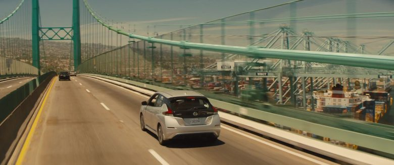 Nissan Leaf Car Used by Kumail Nanjiani & Dave Bautista in Stuber (6)